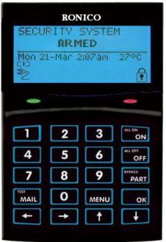 Αλφαριθμητικό Πληκτρολόγιο LCD  CYCP111
